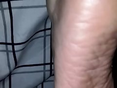 wife rough heels sleeping mature soles