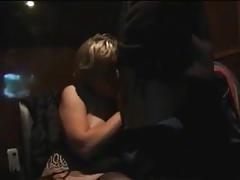 Mature slut in porn cinema