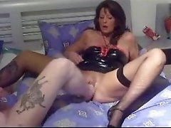 Amateur milf fisting and footing