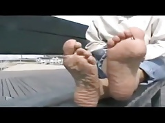 Foot Fetish Video With Mature Lady