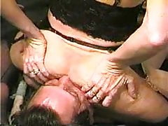 Wifey strangling husband him cleaning her caboose KOLI