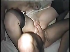 His wife fucks in front of him