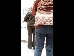 Granny with nice tight ass