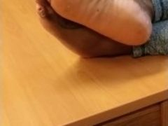 My school lecturer feet