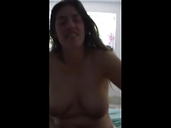 handjob from ugly wife wit saggy tits