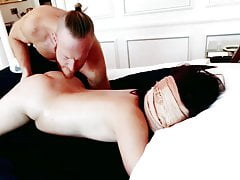Chinese wifey just wished a rubdown (then THIS happens!) super-hot