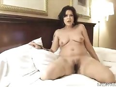 Your favorite mature ball drainer Juju with a hairy pussy