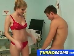Milf with boy sex at hospital feat. czech milf Jenny