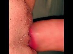 Mega-bitch wifey taut fleshy coochie Getting plumbed