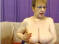 mature rita milf show soft boobs play with boobs