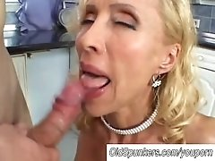 Blonde MILF fucked all ways