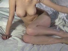Asian Model ?????? MuMu - naked Shoot behind the scenes moist