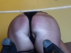 Slutwife caned belted poked and flagellated