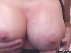 Real Porn Star Tylene Buck masturbates pussy in privat show
