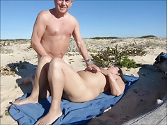 Silver Stallion Beach Sex with Juicecouple