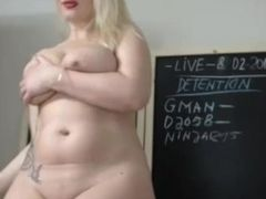 Hot comme �a dance together with cum