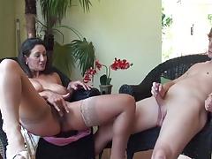Stepmom & Stepson Affair 86 (Mommy's Sex Education)