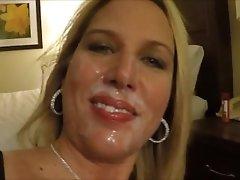 Hotwife makes cock cum in 30 seconds