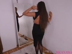 Ultra-kinky step-mother entices and boinks Her Protective sonnie - point of view - anal invasion -Meana grizzly