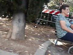 Grandmas flashing lingerie