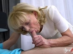 AgedLovE grannie likes Attention of naughty fellow
