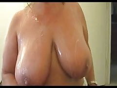 Mother stroking sonnies hefty pipe for hefty cum shot