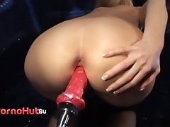 Anna-Lena german milf sex-machine fun