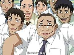 Sexy Anime Wife Dildo Masturbation Orgasm