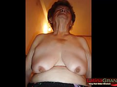 LatinaGrannY clumsy Granny Latinas Slideshow