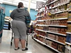 Grandmother phat ass white girl plus-size giant caboose OMG!!