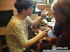 Russian Redhead Mom Seduce Her Son I--WWW.HORNYFAMILY.ONLINE--I