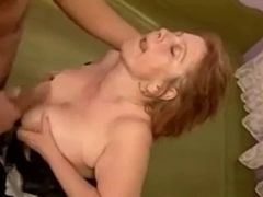 Redhead granny Mathilda rise shopping increased by gets fucked