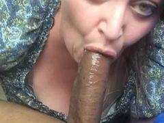 Plus-size deep-throating big black cock on lunch break 2