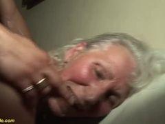 Grannie in her first-ever porno flick