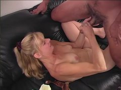 Kathy Mature Vaseline Hand Job - Scene 1