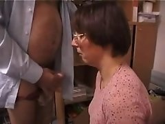 French Amateur French Wife Sucks And Fucks Old Man !