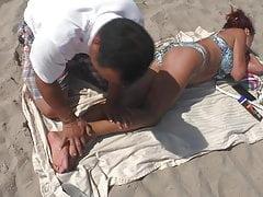 Mature Russian utter figure Beach rubdown (HOOOOT)