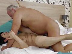 GERMAN grandma AND granddad IN very first TIME pornography vid