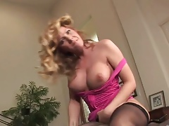 Sexy mature milf in lingerie desire dick