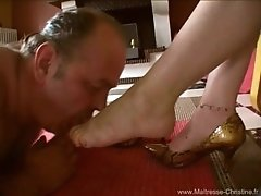 maitresse christine foot dom