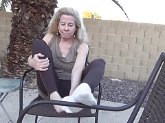 Katie Mature Feet