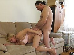 60+ Granny fucks close by younger loverboy