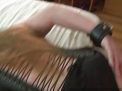 Mexican concomitant Granny Anal tongue-lashing