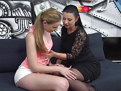 Mature mummy tempt youthfull jaw-dropping stepdaughter