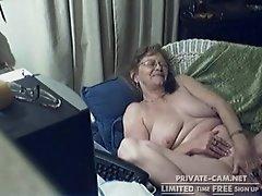 nice Lovely Granny with Glasses 12, Free Webcam Porn Video c6 orgasm teacher