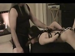 Bound mumsy blowjob in home rookie bdsm