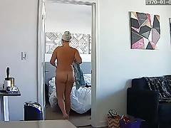 Mature Blonde Milf Mom Mum Naked - Hacked IP Camera