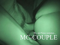 Wife in a small gangbang