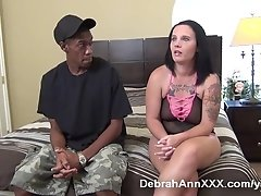 Tattooed Slut Wife Squirter Gets BBC
