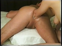 Mature couple fuck and  fist each other